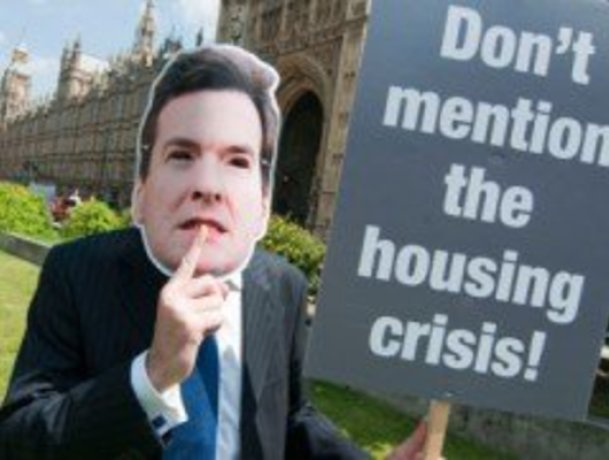 George Osborne's 2011 Budget, housing market