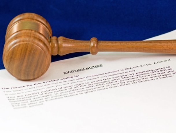 Evicting a tenant