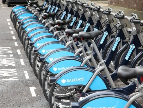 Rental bikes in London