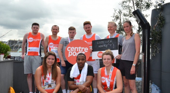 ludlowthomson staff run 10K for Centrepoint photo 1