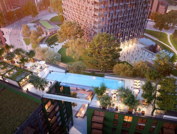 35-metre high 'Sky pool' to be built in Battersea
