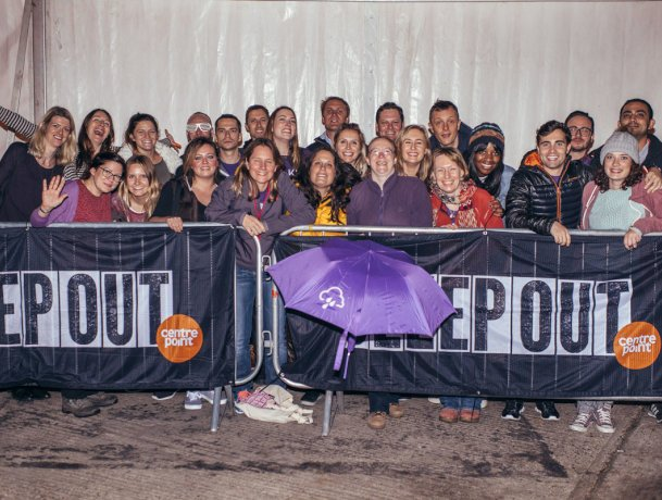 ludlowthompson raise close to £29,000 during 2015 for Centrepoint's campaign to end youth homelessness