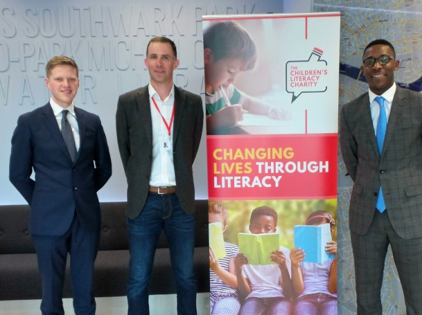 ludlowthompson delighted to support Children's Literacy Charity
