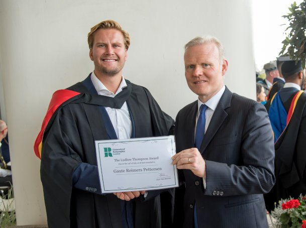 Ludlowthompson celebrates London's brightest students with Graduate Prize at the University of Roehampton