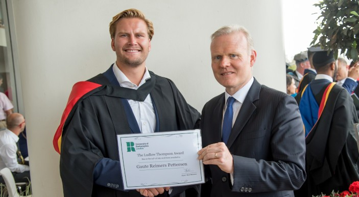 Ludlowthompson celebrates London's brightest students with Graduate Prize at the University of Roehampton photo 1