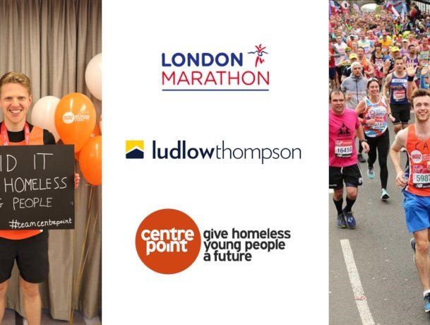 ludlowthompson team complete London Marathon for Centrepoint
