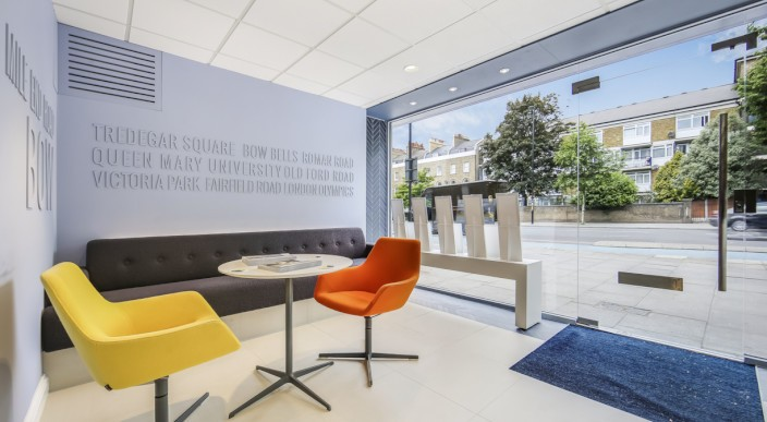 Modern, Aspirational, Open! – Our Bow Office completes major refurbishment as local area flourishes  photo 1