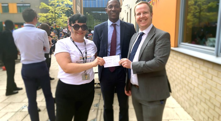 ludlowthompson sponsors Lewisham summer fair with proceeds going to The London Air Ambulance