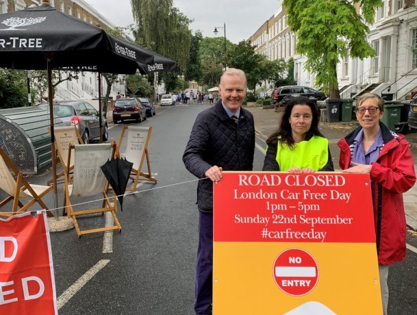 Community associations across London celebrate Car Free Day