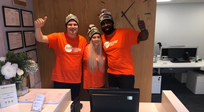 ludlowthompson staff to brave the cold for the 15th year as they 'sleep rough' to raise funds for charity Centrepoint photo 1