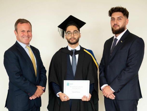 ludlowthompson commemorates London students at University of Roehampton's business graduation ceremony