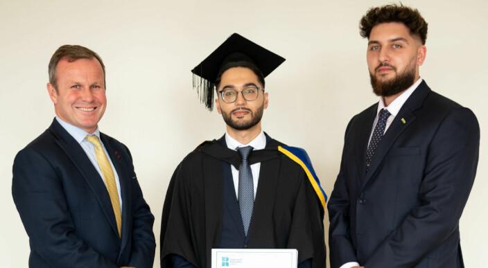 ludlowthompson commemorates London students at University of Roehampton's business graduation ceremony photo 1