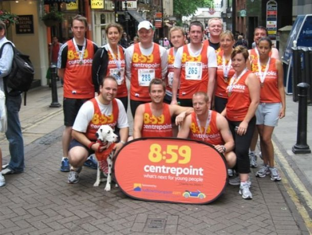 ludlowthompson raised £5k for Centrepoint