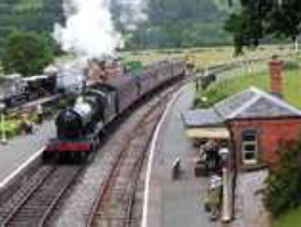 Steam railway or garden feature?
