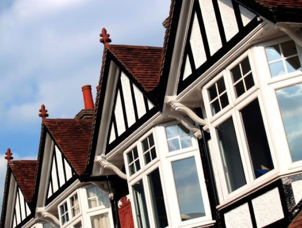 A fall in house prices for London