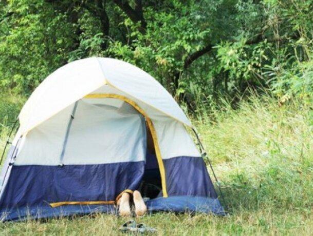 Women tent roundabout